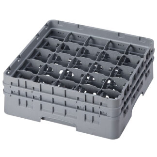 "Cambro Camrack 25 Comp Glass Rack, 5.25"" Height (25S434)"
