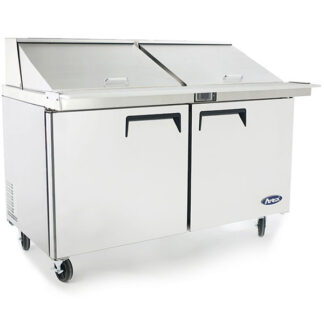 "Atosa 60"" Double Door Mega Top Sandwich Prep Table (MSF8307GR)"