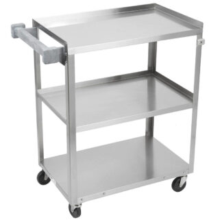 """Vollrath Stainless Steel Utility Cart, 27.5"""" (97120)"""