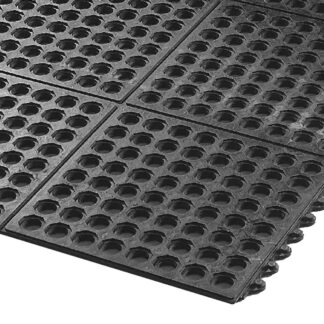 AXIA 3'x3' Anti-Fatigue Mat, General Purpose, Black (AFD3636BT)