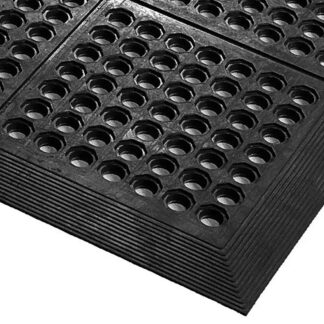 AXIA 3′x5′ Anti-Fatigue Mat, General Purpose, Black (AFD3660B)