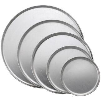 Winco Coupe Style Pizza Pans, Aluminum (APZC)