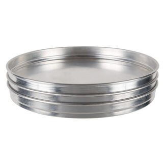 Winco Stackable Aluminum Pizza Pans (APZK)