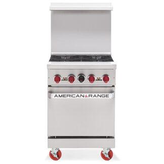 "American Range 24"" Gas 4-Burner Range with Oven (AR4)"