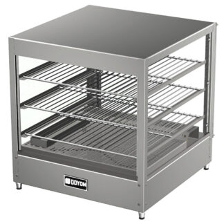 Doyon Pizza Warmer Merchandiser, 3 Shelves (DRP3)