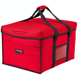 Cambro GoBag, Jumbo Delivery Bag, Red (GBD181412-521)