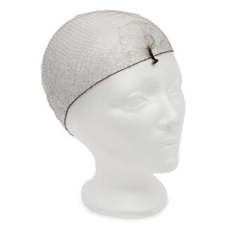 Icon Invisible Hairnet, Light Duty, Black (HBK21)