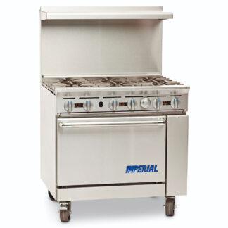 "Imperial Pro Series 36"" Gas Range (IR6)"