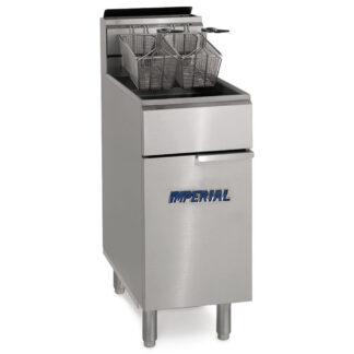 Imperial 40lb Gas Open Pot Fryer (IFS40OP)