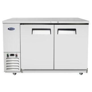"Atosa 59"" Back Bar Solid Door Cooler (MBB59GR)"
