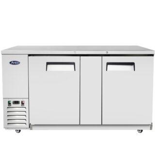 "Atosa 69"" Back Bar Solid Door Cooler (MBB69GR)"