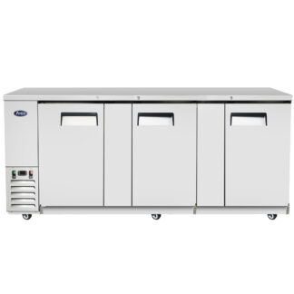 "Atosa 90"" Back Bar Solid Door Cooler (MBB90GR)"