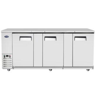 "Atosa 90"" Back Bar Solid Door Cooler (MBB90GR)"