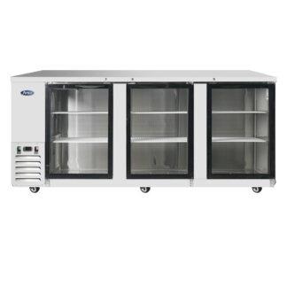 "Atosa 90"" Back Bar Glass Door Cooler (MBB90GGR)"