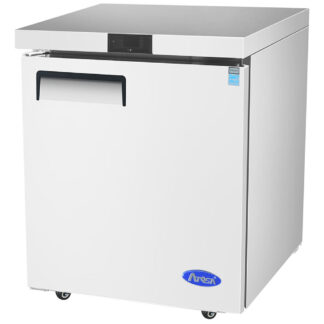 "Atosa 27"" One Solid Door Undercounter Freezer (MGF8405GR)"