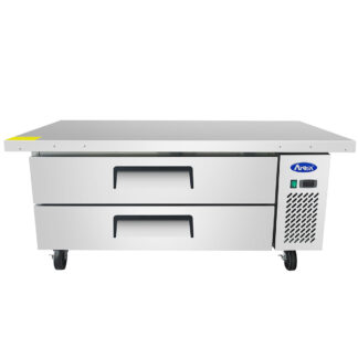 "Atosa 60"" Extended Top Refrigerated Chef Base (MGF8452GR)"