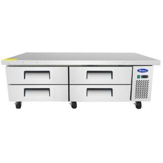 "Atosa 72"" Refrigerated Chef Base (MGF8453GR)"