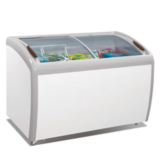 Atosa Curved Top Chest Freezer, Glass Lid, 9.2 cu. ft. (MMF9109)