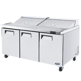 "Atosa 72"" Sandwich Prep Table (MSF8304GR)"