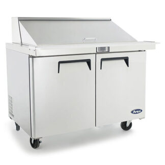 "Atosa 48"" Mega Top Sandwich Prep Table (MSF8306GR)"