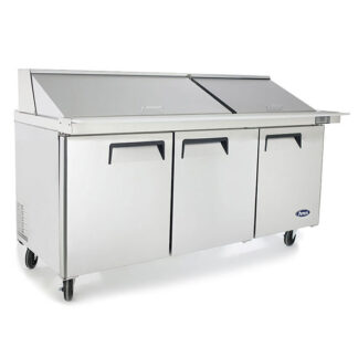 "Atosa 72"" Mega Top Sandwich Prep Table (MSF8308GR)"