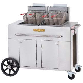 Crown Portable Outdoor Double Tank Gas Fryer (PF2)