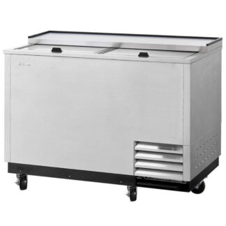 Turbo Air Super Deluxe Glass Froster, 2 Sliding Doors, Stainless Exterior (TBC50SDGF)