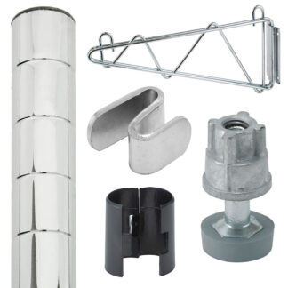 Reliant Chrome Shelving Posts & Accessories (WSCP)