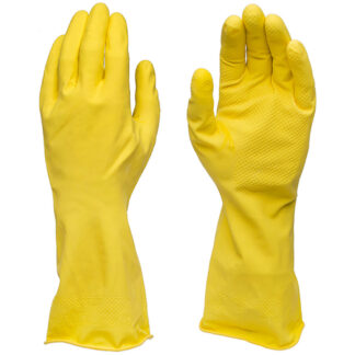 Icon Dishwasher Gloves, 14 mil, Yellow, Small (D4Y)