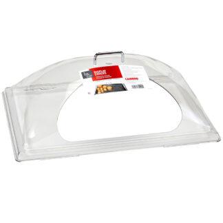 "Cambro Camwear Dome Display Cover, Side Cut, 12""x20"" (DD1220SCW)"