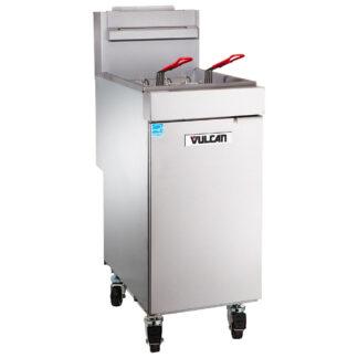 Vulcan VEG Series Freestanding 35-40 lb. Gas Fryer (1VEG35M)
