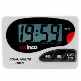 Winco Large LCD Digital Timer, Hour/Minute (TIM85D)