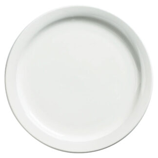 "Browne Palm Porcelain 7.25"" Dinner Plate (563963)"