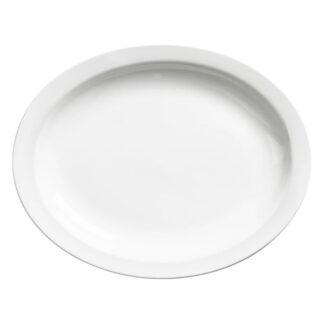 """Browne Palm Porcelain 9.75"""" Oval Platter (563967)"""
