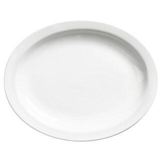 """Browne Palm Porcelain 11.5"""" Oval Platter (563968)"""