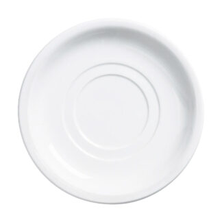 "Browne Palm Porcelain 5.5"" Double Wall Saucer (563972)"