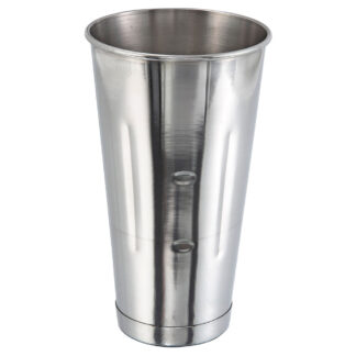 Winco 30 oz Malt Cup, Stainless Steel (MCP30)