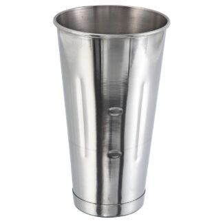 Winco 30 oz Malt Cup, Stainless Steel (MCP30)