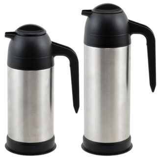 Winco Vacuum Insulated Coffee/Cream Servers, Stainless Steel (VSS)