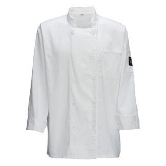 Winco Universal Fit Chef Jacket, White (UNF5W)
