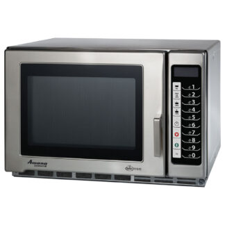 Amana Medium Volume 1200W Programmable Commercial Microwave (RFS12TS)