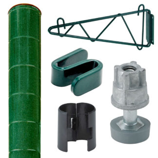 Reliant Epoxy Shelving Posts & Accessories (WSEP)
