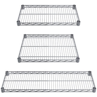 Reliant Heavy-Duty Chrome Wire Shelves (WSC)