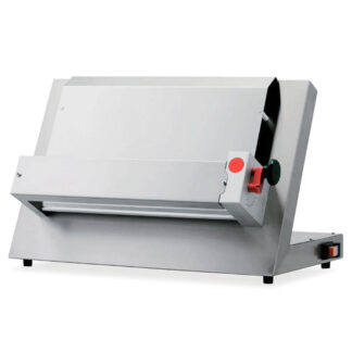"""Omcan Adjustable Dough Roller, 13.3"""" Max Roller Width, 0.5 HP Motor (40639)"""