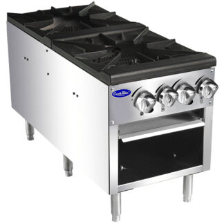 Atosa Double Stock Pot Burner, NG (ATSP182)