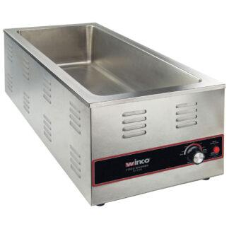 Winco 4/3 Electric Food Warmer, 1500W (FWL600)