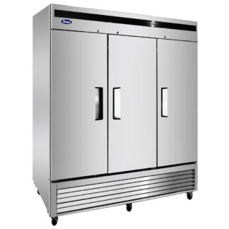Atosa 68 cu. ft. Three Solid Door Cooler (MBF8508GR)