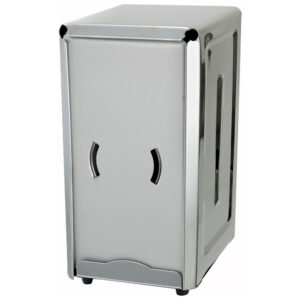 Winco Stainless Steel Full-Size Countertop Napkin Dispenser (NH7)