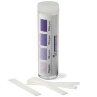 Krowne Chlorine Test Strips with Color-Coded Chart (25123)