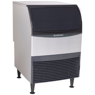 Scotsman 200lb Self-Contained Undercounter Ice Machine with Storage (UC2024)